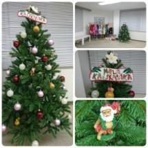 スタジオもクリスマス仕様になりました☆