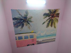 ハワイみたいな絵